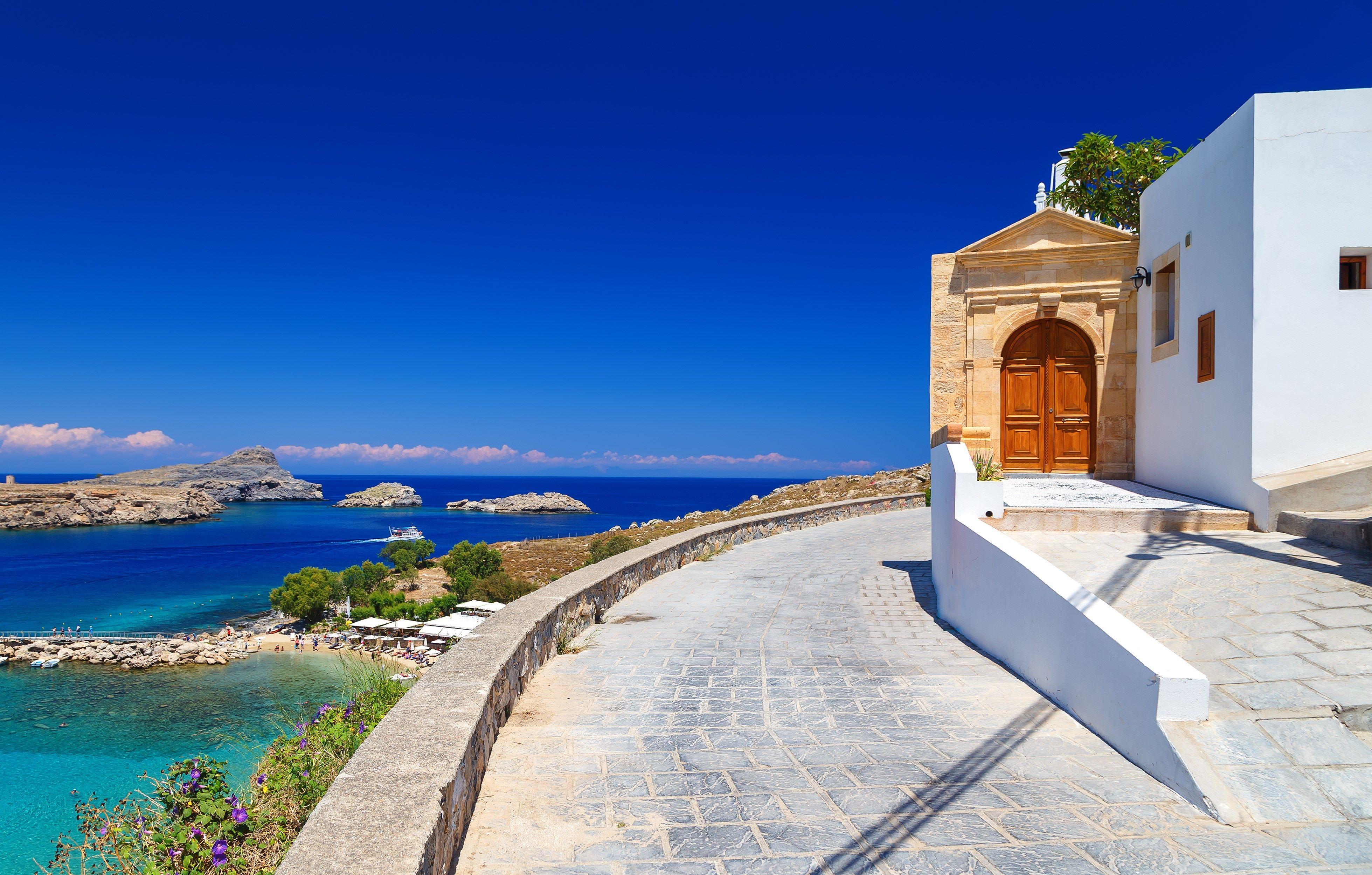 Kos Adası: Hipokrat Havaalanı misafirler için bekliyor 58